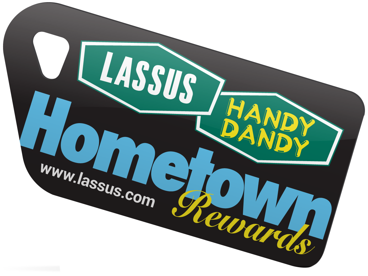 Lassus Hometown Rewards Tag
