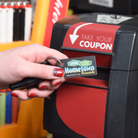 Use your Hometown Rewards points in Store